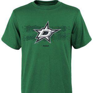 New Reebok NHL Reebok Dallas Stars Youth Tee Green